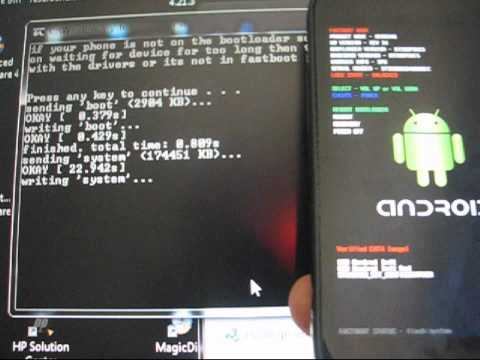 How to unroot the Nexus S 4G back to stock Android 2.3.7