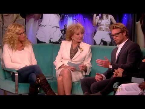 Simon Baker 2013 11 on The View - full version