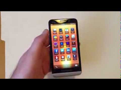Blackberry Z30 How to Hard Reset with Security Wipe aka Factory Data Reset