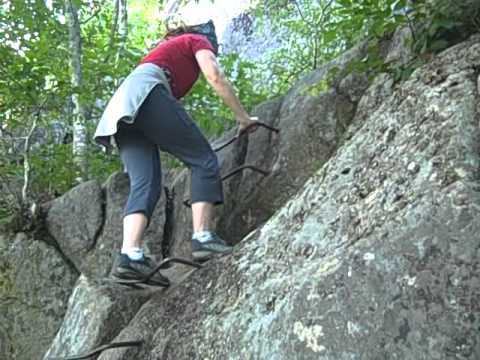 Precipice Trail Acadia National Park Hike -