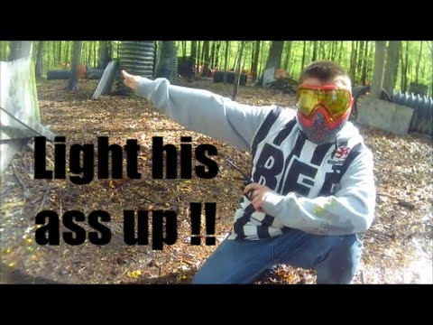 LIGHTING UP PAINTBALL CHEATERS ON CAMERA !!! || GoPro Paintball