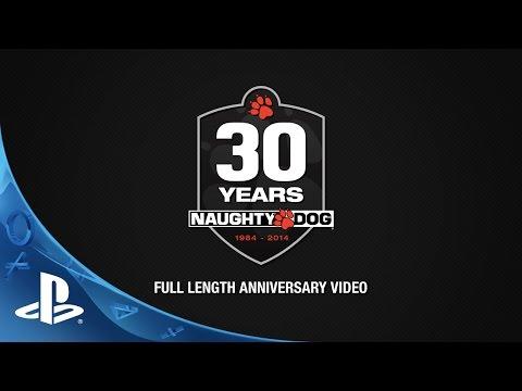 Naughty Dog Full Length 30th Anniversary Video video