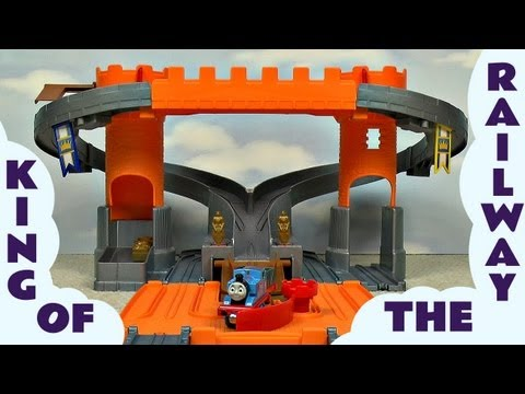 King Of The Railway Adventure Castle Take N Play Kids Thomas & Friends Toy Thomas And Friends