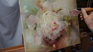 Process of creating oil painting from Oleg Buiko. Небольшой этюд