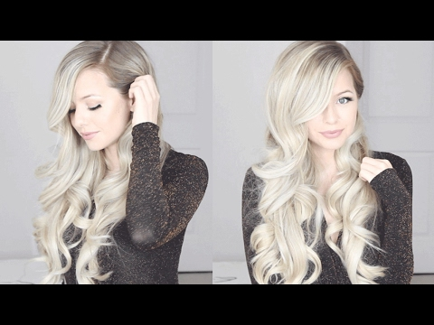 HOW TO: Romantic Hairstyle. Old Hollywood Inspired Curls
