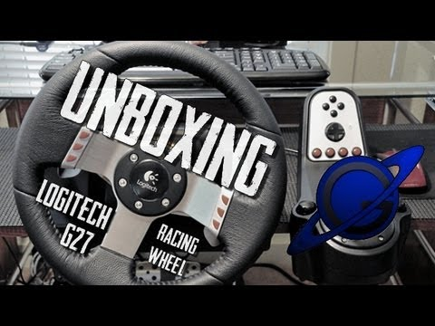 Unboxing : Logitech G27 Racing Wheel [FR]