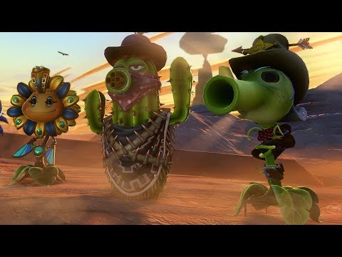 Plants VS Zombies: Garden Warfare - Zomboss Down