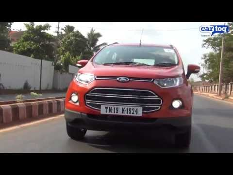 Ford EcoSport 1.0 EcoBoost video review by CarToq.com