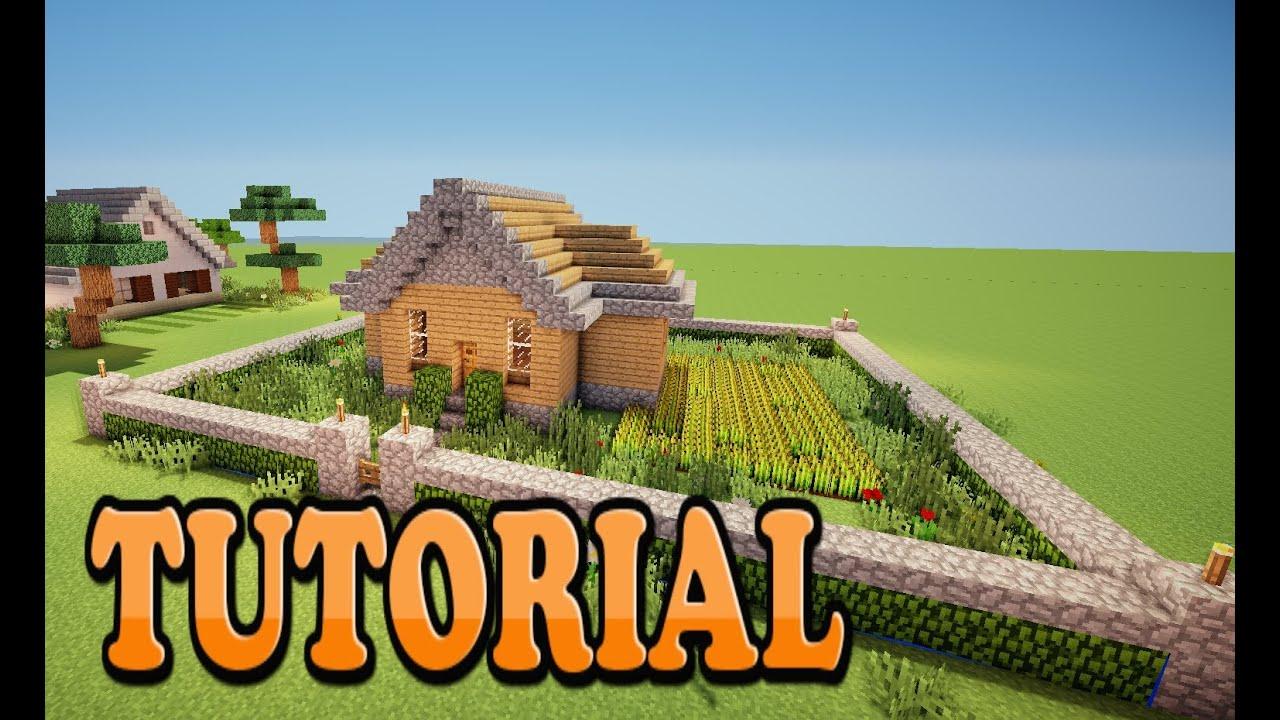 Minecraft como hacer una casa de campo bonita y sencilla for Hacer casas
