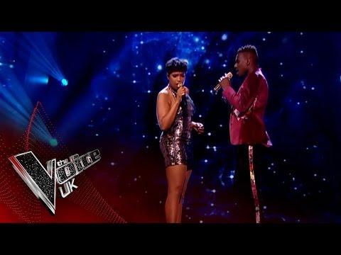 Mo & Jennifer Hudson perform Beneath Your Beautiful: The Final  The Voice UK 2017