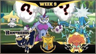 PLOTTING... St. Louis Rampardos vs L.A. Spice  | APA Week 9 | Pokemon USUM
