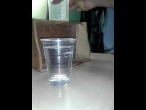 Aplicacion de Calculo diferencial en clepsidras [Reloj de agua]
