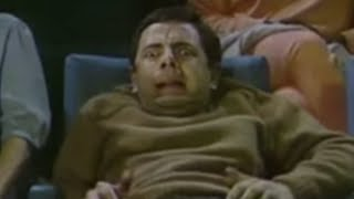 Mr. Bean - Watching a Horror Movie