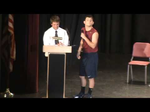 BHS Move Up Day 2013 - Teacher Spelling Bee