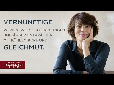 """Gelassen bleiben"" Psychologie Heute 1/2017"