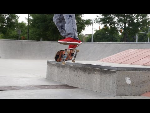 Simon Lambey switch stance ledge session