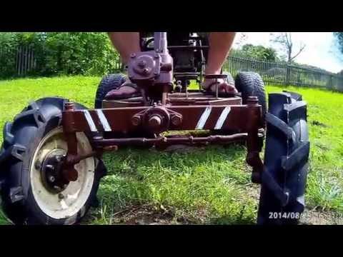 Трактор своими руками с мотоблока
