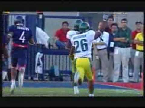 the song in the video is called Requim For A Dream by Clint Mansell Oregon Ducks 2005 Football Highlights Video oregon ducks football highlights highlight vi...