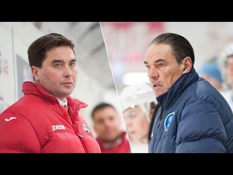 Плей-офф, МХК «Динамо» – «Донбасс»: комментарии тренеров