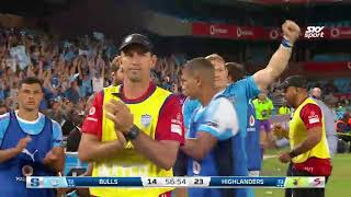 Highlights - Bulls v Highlanders