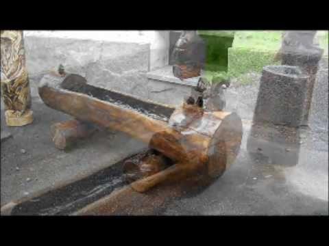 Fioriere in tronchi youtube for Fioriere fai da te in legno