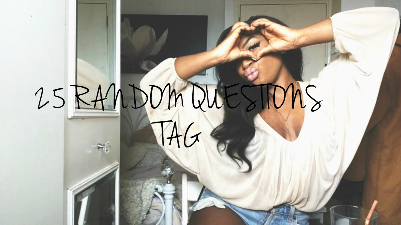 Tag Questions About me Questions Get to Know me