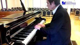 Sergei Rachmaninoff - Musical Moment No.4 in E minor by Augustinas Šopaga (Lithuania)