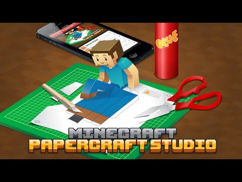 Minecraft Papercraft Studio App Trailer