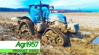 STANDARD, HARD and EXTREME CONDITIONS | CAMSO RUBBEN TRACK SYSTEMS: FENDT and NEW HOLLAND PLOUGHING