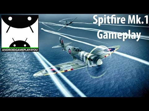 War Wings Android (Spitfire Mk.1) GamePlay [60FPS]
