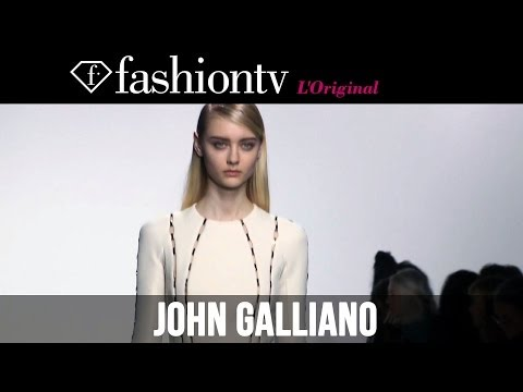 John Galliano Fall winter 2014-15 | Paris Fashion Week Pfw | Fashiontv video