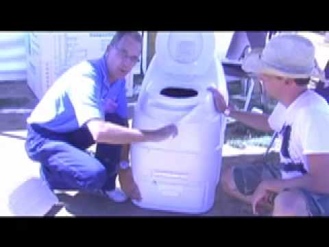 Sun Mar Composting Toilet Demo