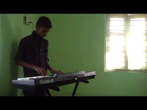 Aye Zindagi Gale Laga Le Ilayaraja keyboard instrumental Sadma...