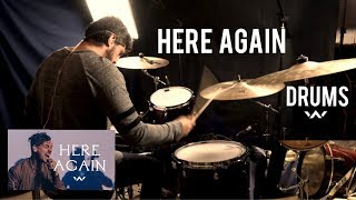 Here Again (Extended Version)   Live   Elevation Worship (Drum Cover)