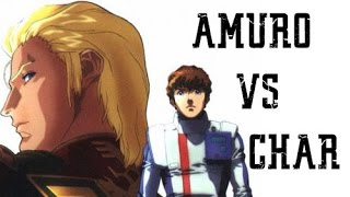 Char's Counterattack Amuro vs Char 4k UHD (English Dub)