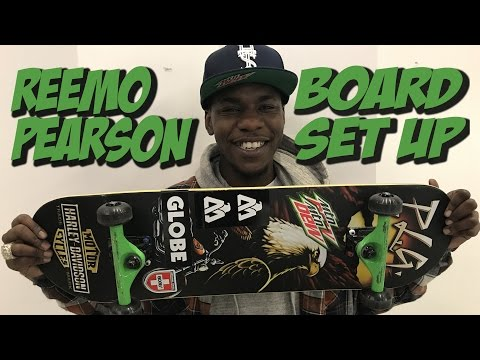 REEMO PEARSON SOPHISTICATED BOARD SET UP AND INTERVIEW !!!