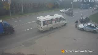 Авария, г. Котельники, ул. Новая д. 13, 07.09.2017
