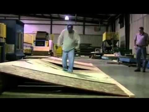 Advantech Vs Competitor Osb Plywood Strength Test