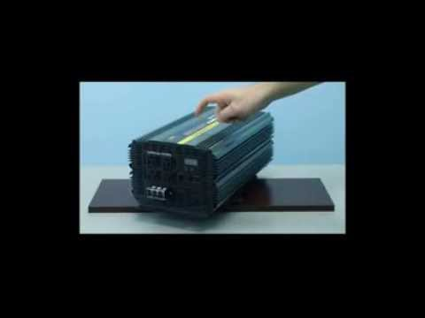 6000 Watt Power Inverter 12 Volt DC to 110 Volt AC (PI-6000)