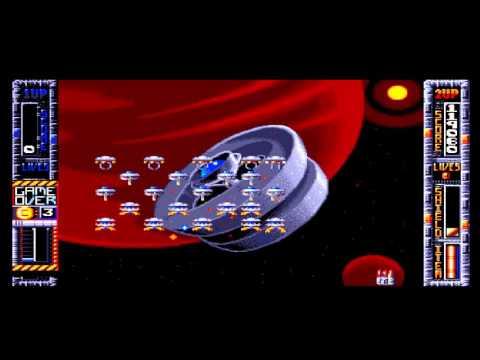 Lukozer Retro Game Review 183 - Super Space Invaders - Commodore Amiga