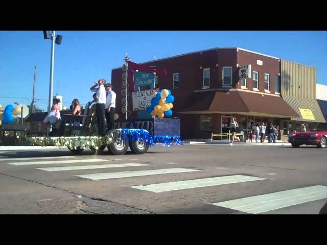 Kingfisher OK Homecoming Parade Video 3