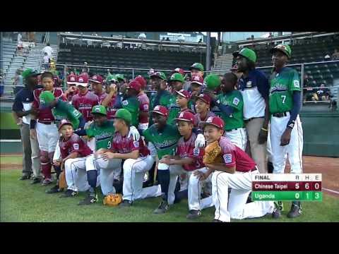 Taipei & Uganda Teams Show True Little League Spirit