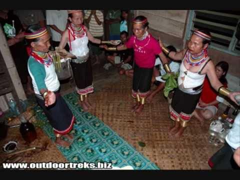 Jenis-jenis Suku Dayak Borneo