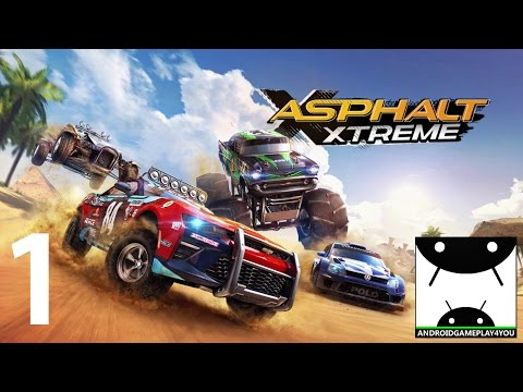 Asphalt Xtreme Android GamePlay #1 [1080p] (By Gameloft)