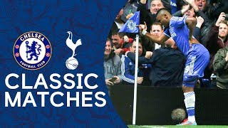 Chelsea 4-0 Spurs | THAT Eto'o Celebration | Premier League Classic Highlights 2013/14
