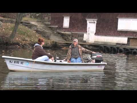 Fishing for Hybrid Striped Bass on Lake Hopatcong