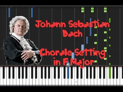 Бах Иоганн Себастьян - Chorale In F Major