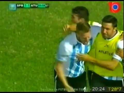 Gol de Atlético 1
