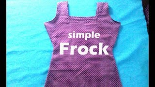 how to make a frock at home, summer cotton frock cutting, baby girl dresses baby frocks,
