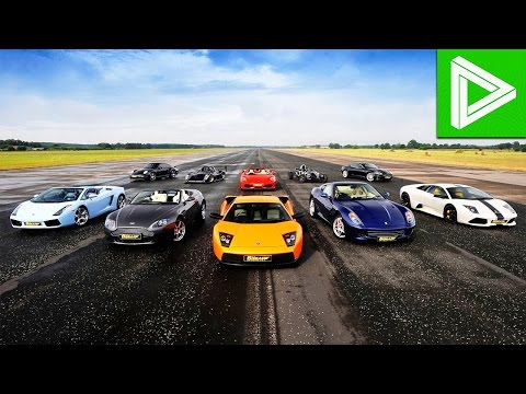 Top 10 FASTEST Cars in the World!